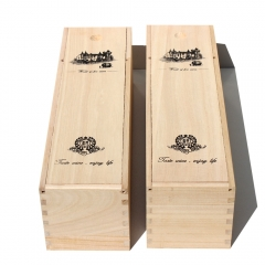 Wooden Wine Carrying Boxes