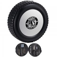 Hardware Tools Kit In Tire Shaped Case