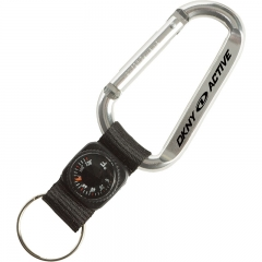 Carabiner Compass thermometer Key Chains