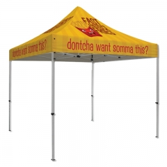 Foldable Full Imprint Advertising Tents